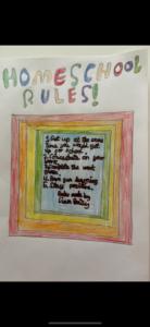 Liam R Homeschool Rules